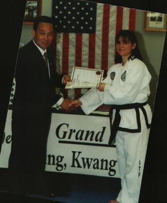 4th Dan test, 2001