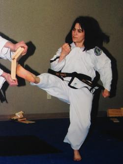 Twisting Kick, Ms. G.