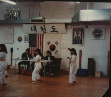 Too funny, would had been green belt test, 1983