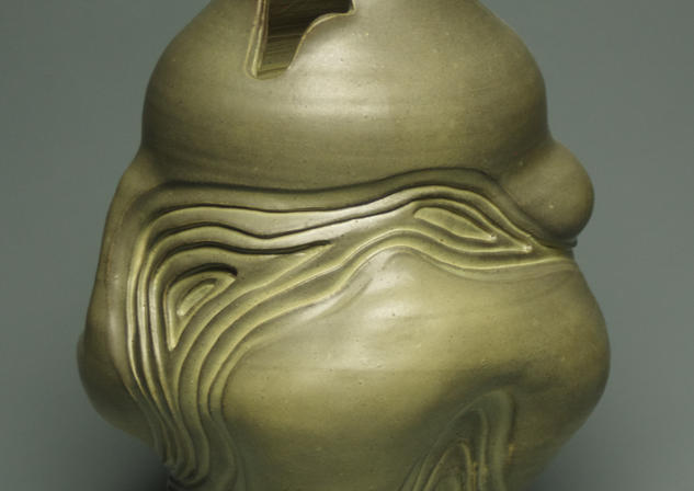 Eroded Vase