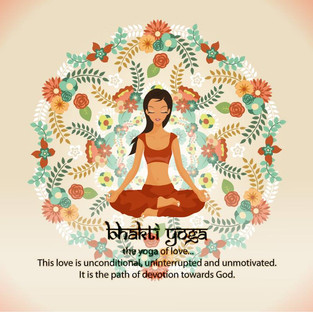 How did you evolve on the path of Bhakti?