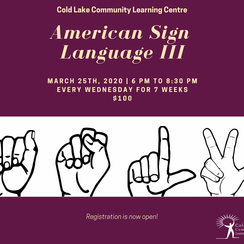 American Sign Language 3