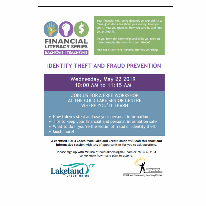 Identity Theft and Fraud Prevention