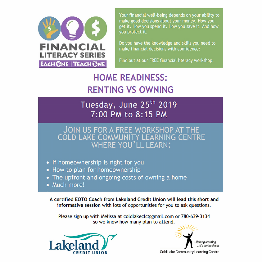 Home Readiness - Renting vs Owning