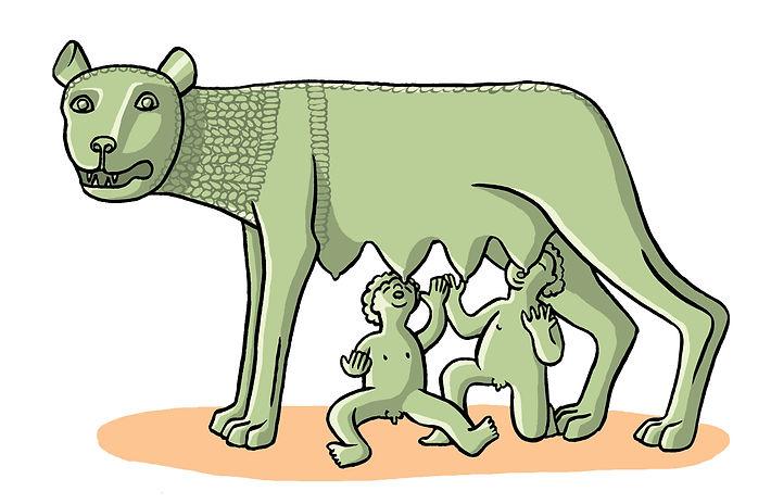 la louve romaine Bordas 2008.jpg