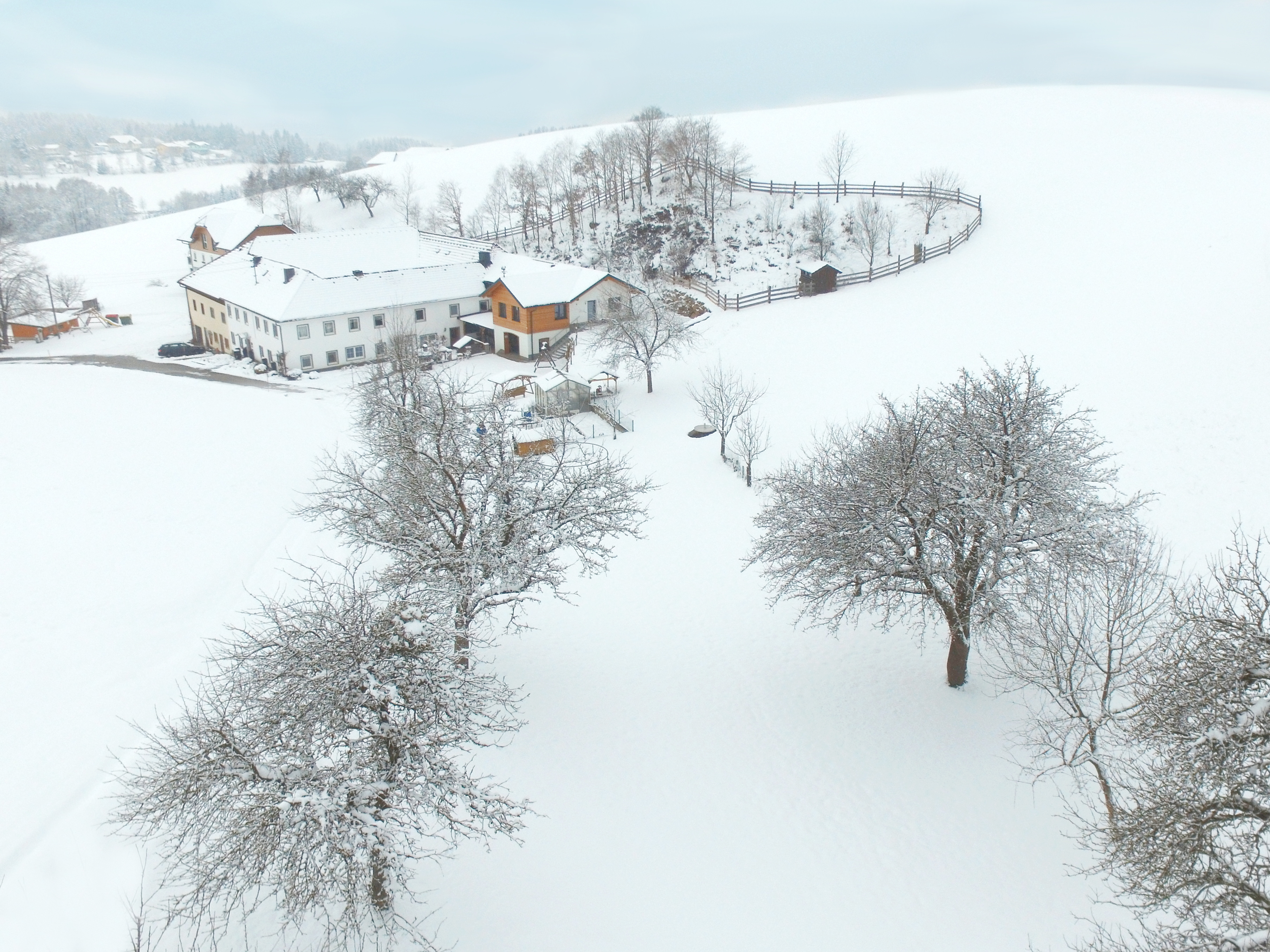 Winter am Löschgruberhof