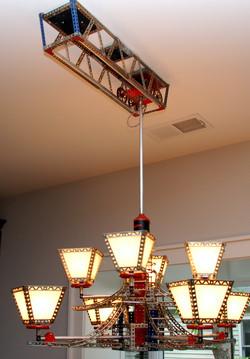 Erector Set Mobile Track Lamp