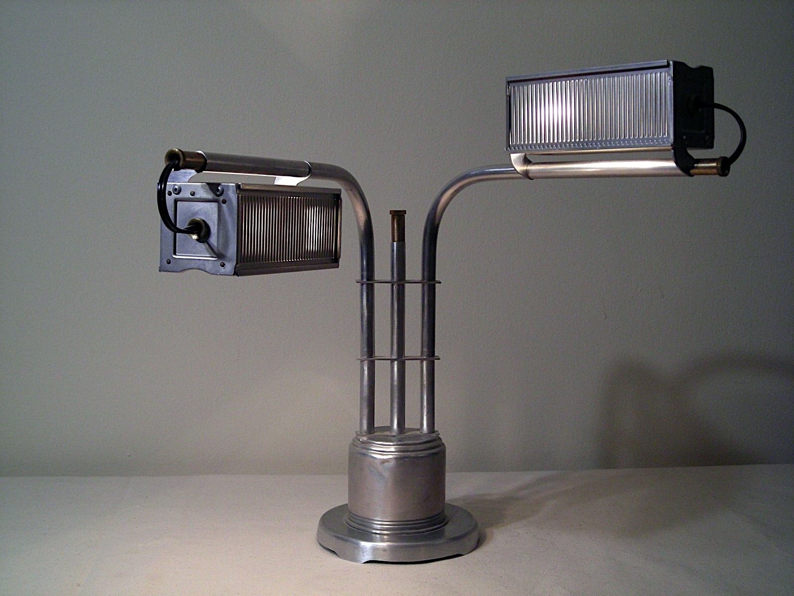 Double Slide Tray Table Lamp