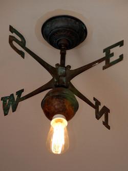 Vintage Weather Vane Light