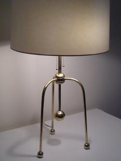 Brass Tri Legged Lamp