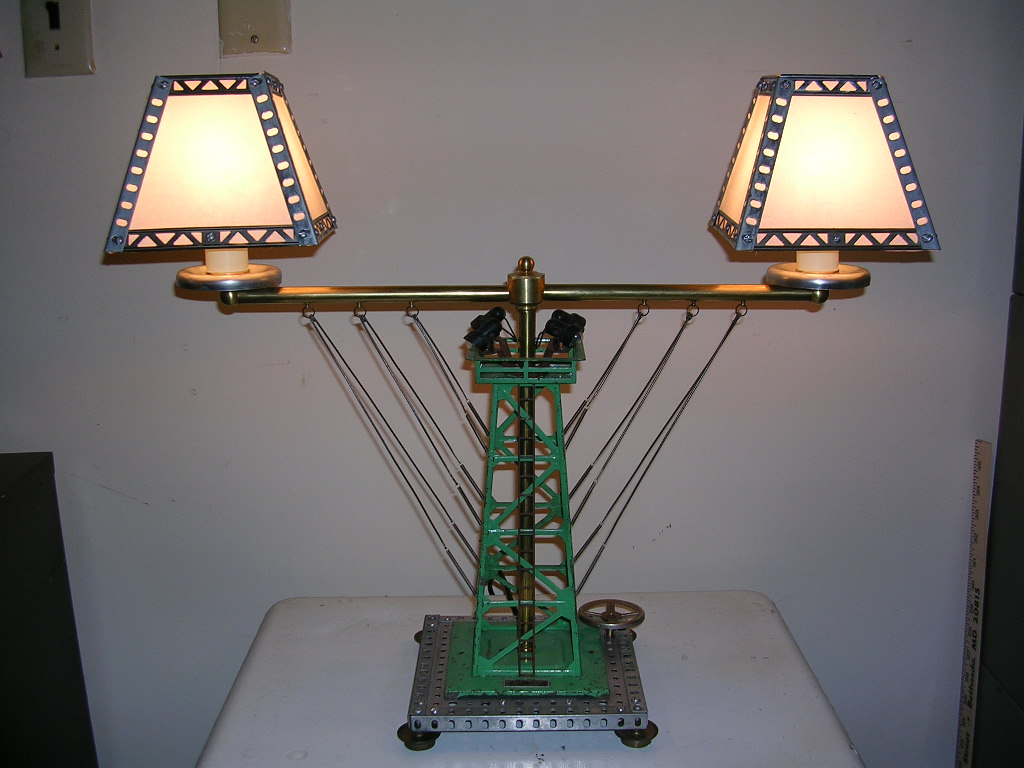 Model RR Tower Table Lamp