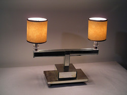 Hand Mirrored Bedside Lamp