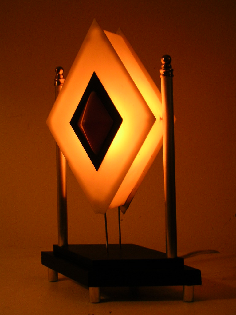 Diamond Cab Bedside Lamp