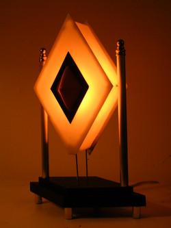 Diamond Cab Bedside Lamp