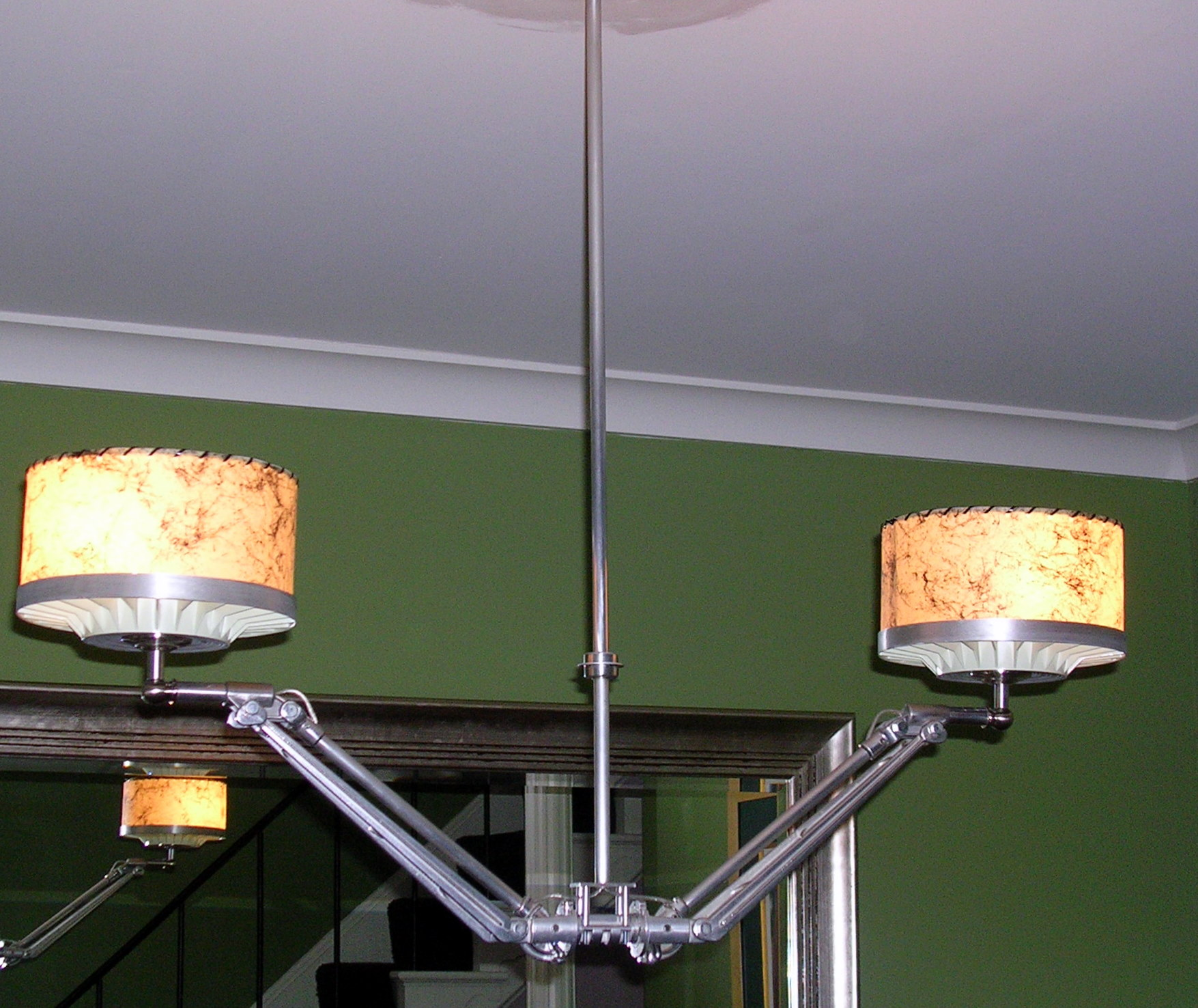 Vintage Golf Caddy Chandelier