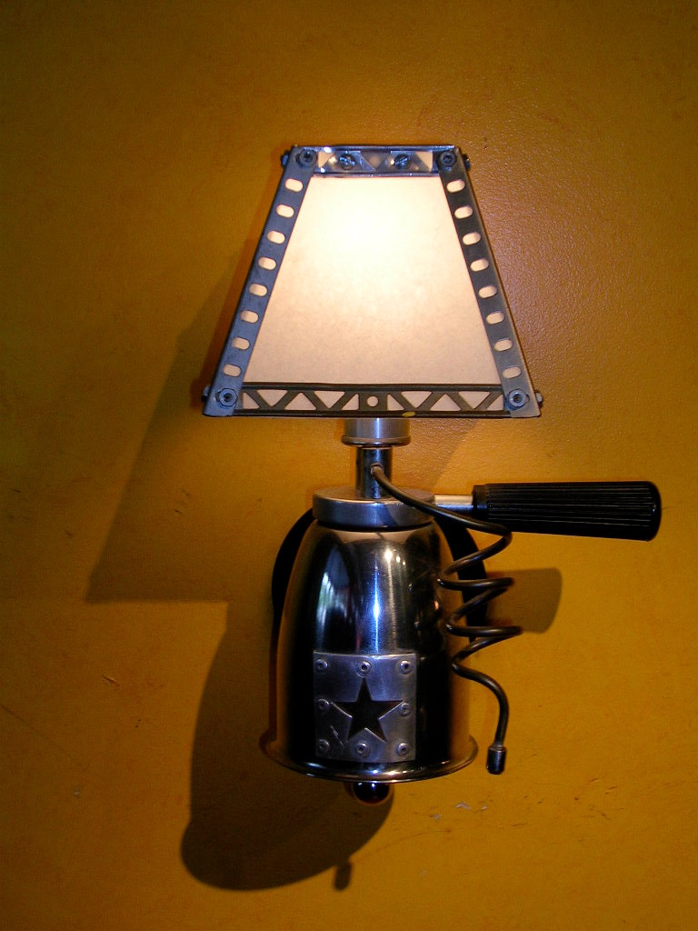 Vintage French Espresso Sconce