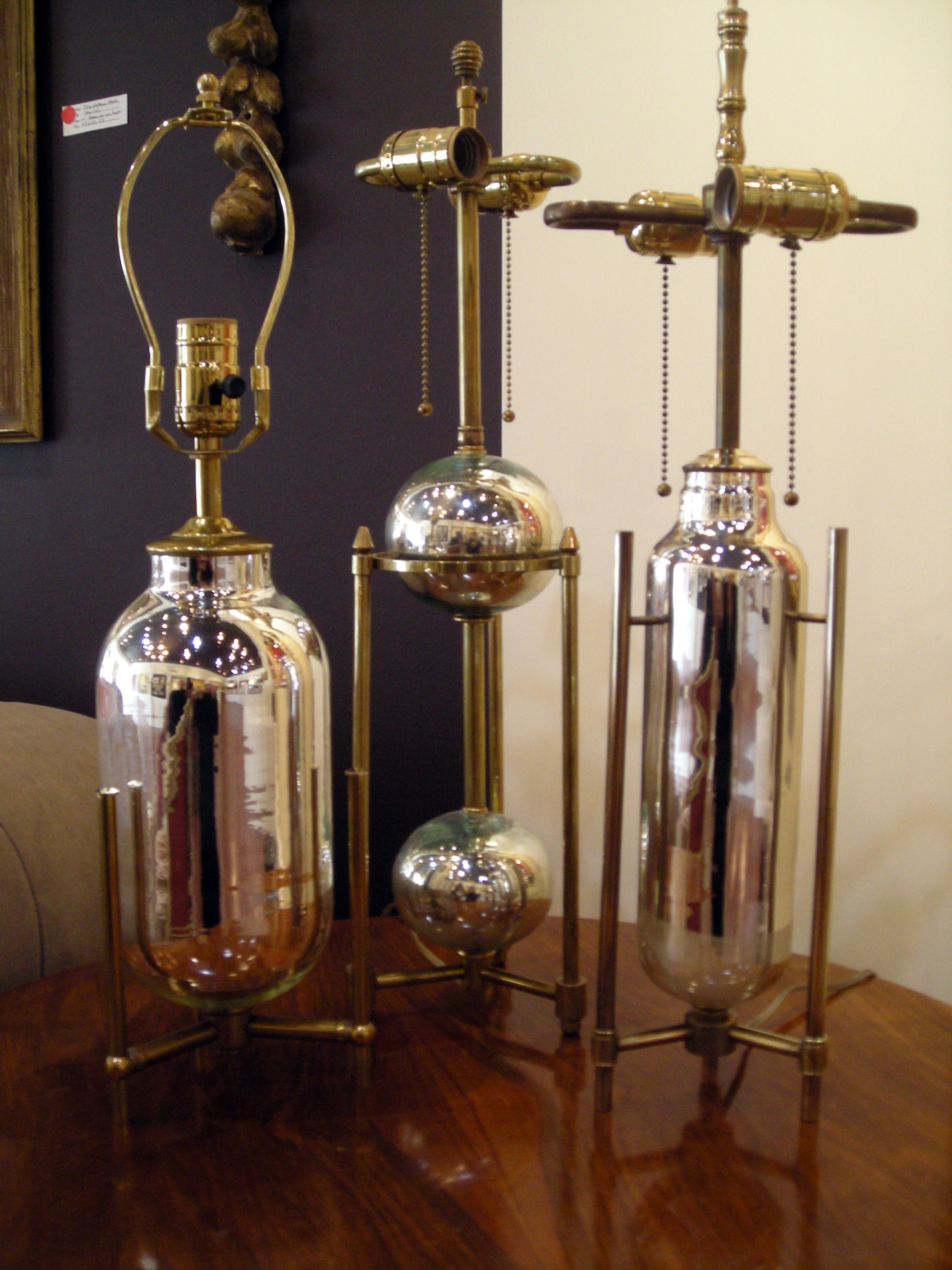Mercury Glass Table Lamps