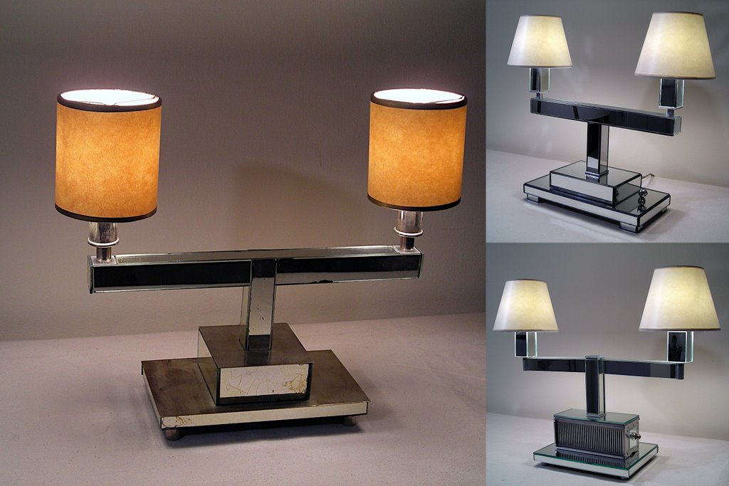 Mirrored Vanity Lamps