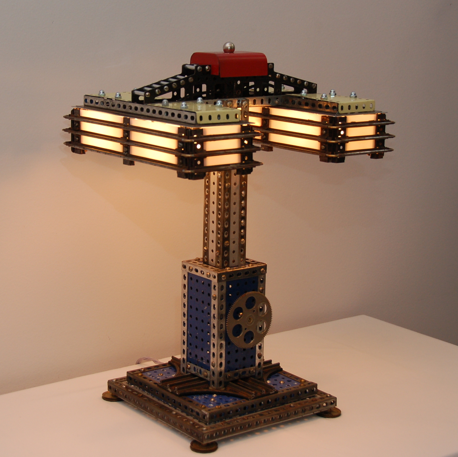Erector Set Table Lamp