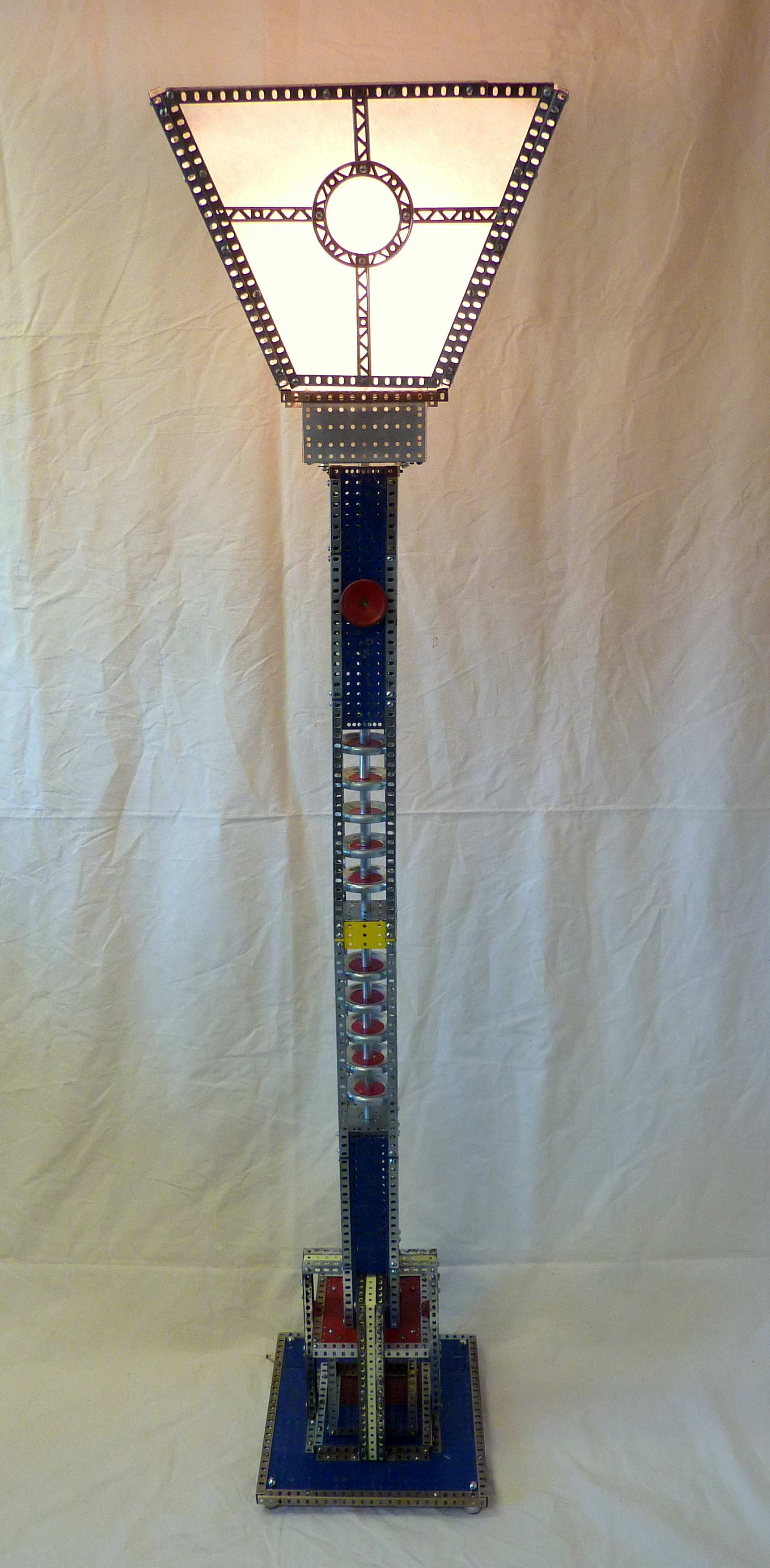 Erector Set Floor Lamp