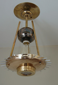 Mixed Brass Entry Light