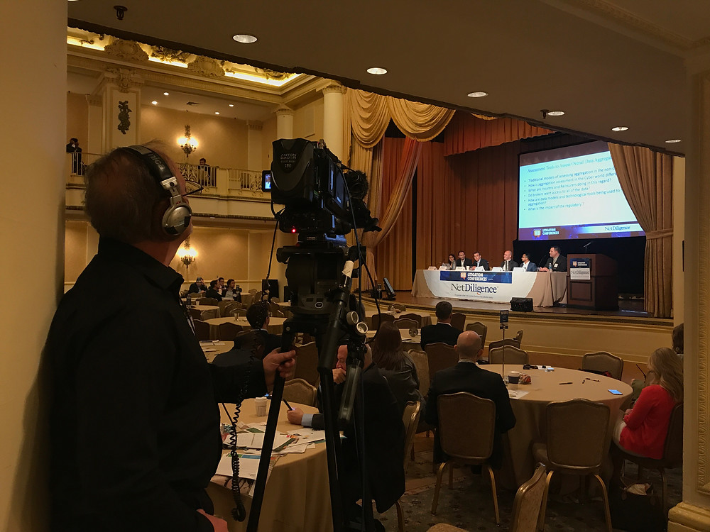 Keystone Pictures AV covers Kenzie Media HB Litigation Conference in Hyatt Bellvue Philadelphia