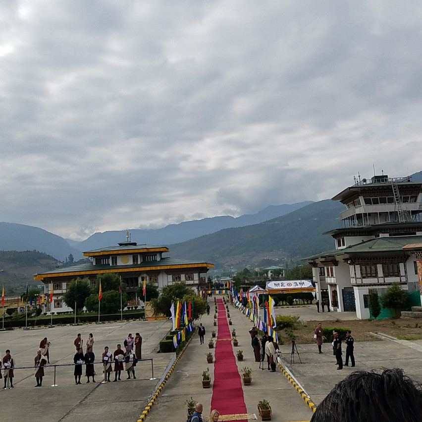 Bhutan Red Carpet Welcome