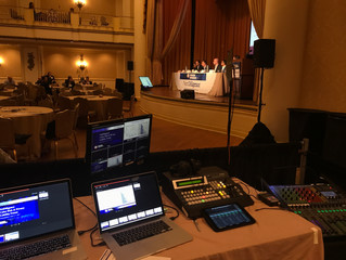 Keystone Pictures AV supports Kenzie Media at Hyatt Bellvue in Philadelphia
