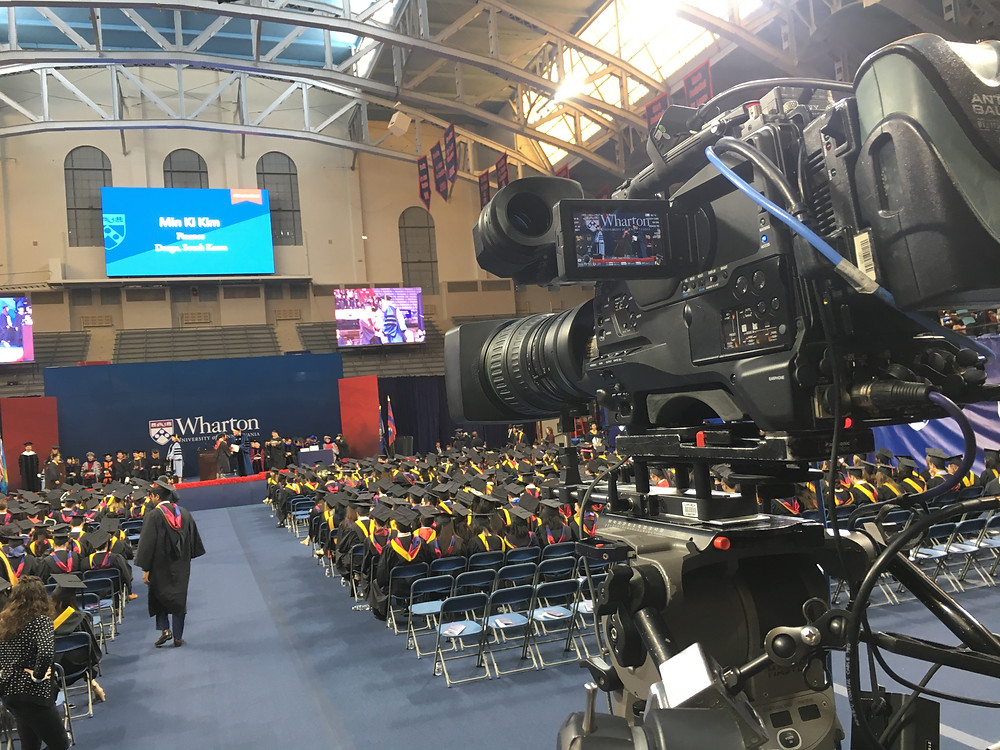 Keystone Pictures covers University of Pennsylvania graduation at The Palestra