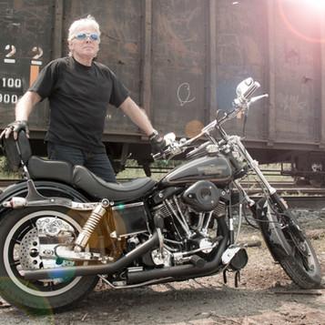 Harley lifestyle photoshoot