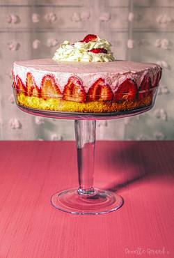 Fraiser Strawberry Tort