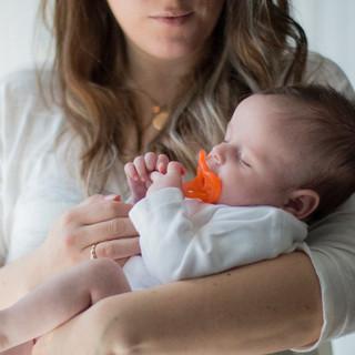 Baby food photoshoot