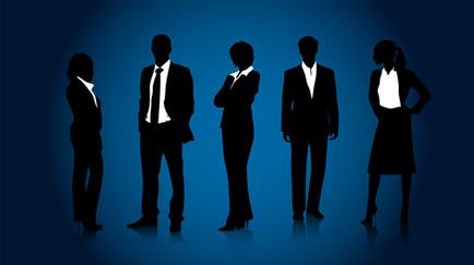 illustration of business people