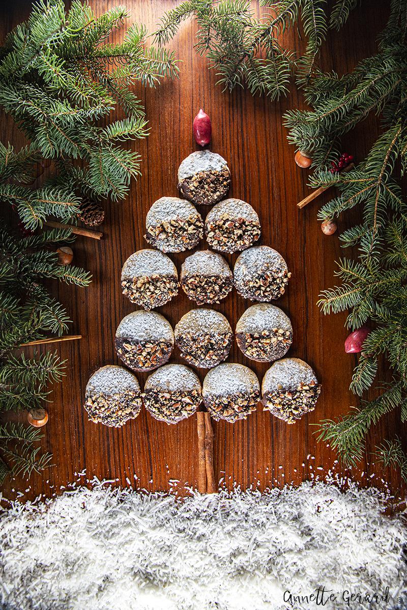 Pecan Xmas Cookies