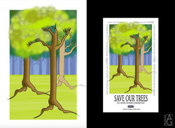 Save paper campaign for Ford Canada.