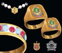 Corporate jewellery drawing