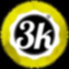 Logo 3k Transparente Dorado.png