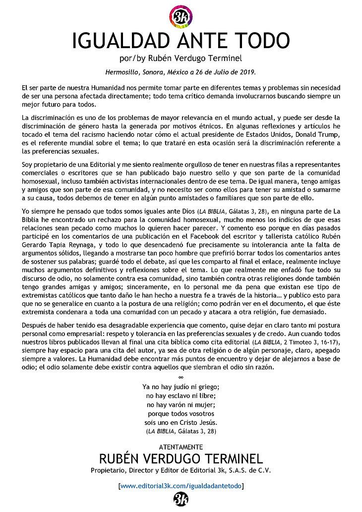 CARTA JPG Igualdad Ante Todo 26Julio2019