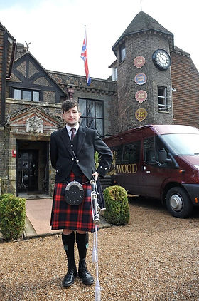 YourBagpiper supplies first class pipers to events all over the UK. Boasting fantastic customer service with the 'personal touch', helping your events run as smoothly as possible and leaving a lasting impression in every guest's mind.