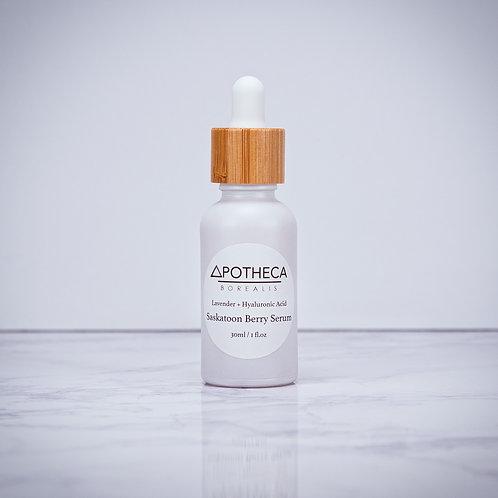 Saskatoon Berry Serum w/Lavender & Hyaluronic Acid