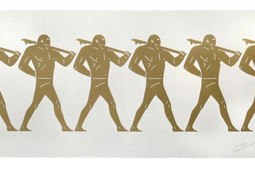 """""""Marchers"""" by Cleon Peterson"""