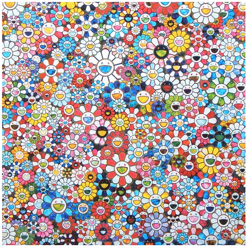 The Future Will Be Full Of Smile For Sure! by TAKASHI MURAKAMI