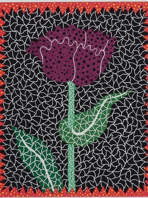 """""""Tulipe (I)"""" by Yayoi Kusama"""