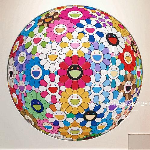 """""""Flower Ball"""" by Takashi Murakami"""