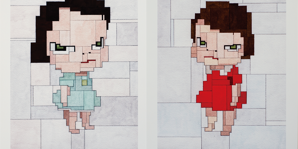 """Two """"Nara"""" Limited Edition Prints by Adam Lister DROP!"""