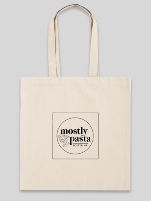 Mostly Pasta Tote Bag