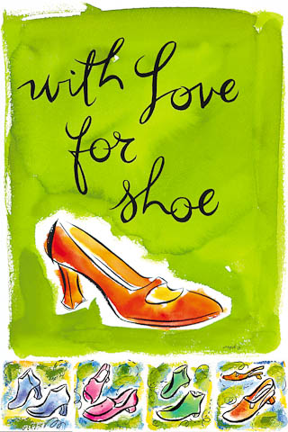 WITH LOVE FOR SHOE, poster