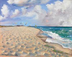 at SAINT CYPRIEN BEACH