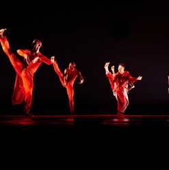Grace, Choreography by Ronald K Brown                 Photo by Andrew Eccles