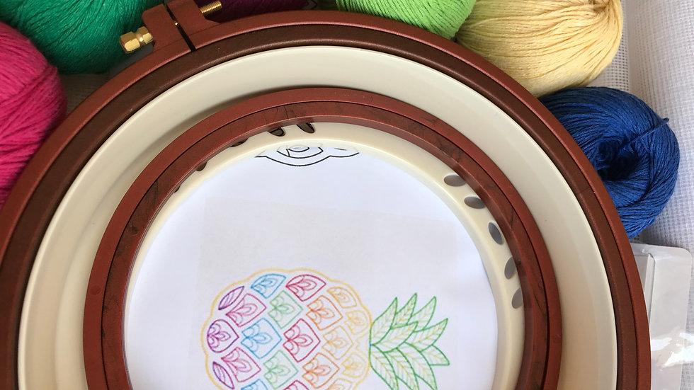 Yeni Başlayanlar - Koyu Renkli Ananas Punch Seti